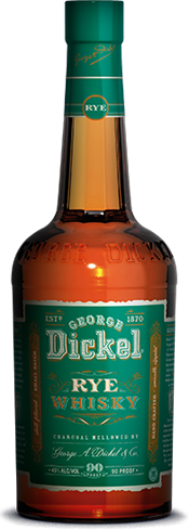 George Dickel Rye is both chilled and filtered before bottling for a fresh and complex nose