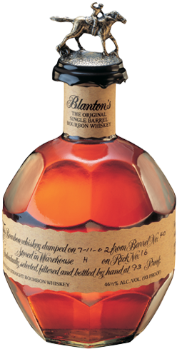Blanton's Original Single Barrel has a toffee-caramel aroma