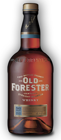 Old Forester Kentucky Straight Bourbon Whiskey is spicier than the typical bourbon dram
