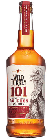 Wild Turkey 101 has full, luscious and spicy flavors