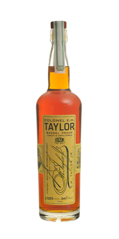 E.H. Taylor, Jr. Barrel Proof is an aromatic, pre-Prohibition-style bourbon