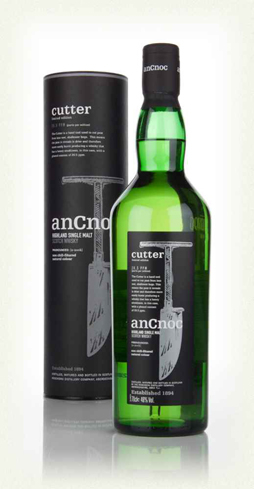 Featuring smoky and fruity flavors, AnCnoc Cutter Highland Single Malt Scotch Whisky comes from Aberdeenshire