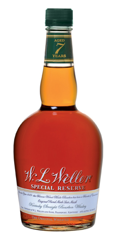 W.L. Weller Special Reserve is made from wheat grains instead of rye