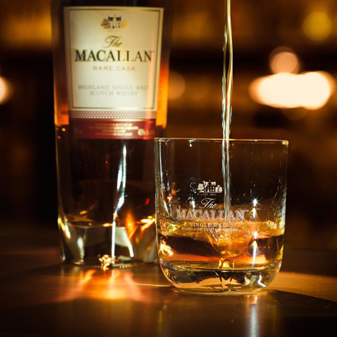 The Macallan Fine and Rare Collection includes bottlings that date back to 1856