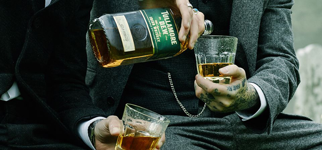 Tullamore Dew Irish Whiskey is triple distilled