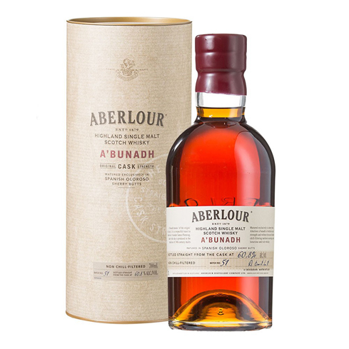 Aberlour's founder, James Fleming, was a proponent of traditional distillation methods like the ones used to craft A'bunadh Cask Strength