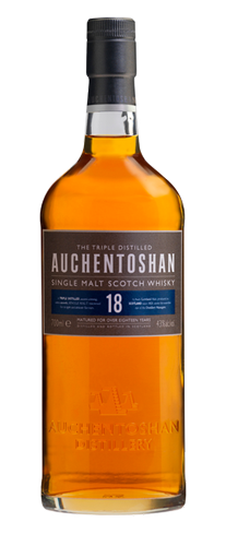 Auchentoshan 18 Year Old Single Malt Scotch Whisky is one of only a handful that practice triple distillation