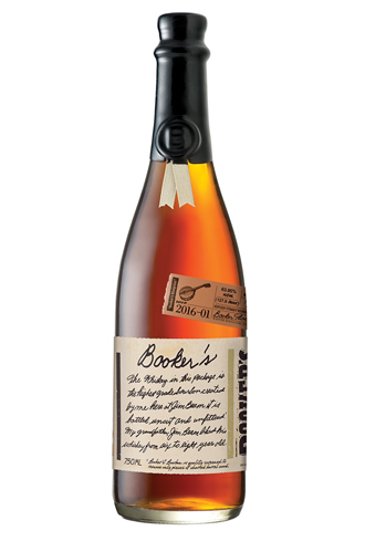 Booker's Bluegrass has flavors of vanilla and maple syrup
