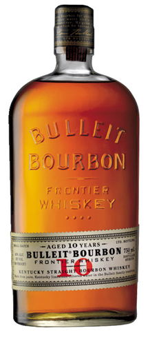 Smooth and rich, Bulleit Bourbon 10 Years Old is aged in American white oak