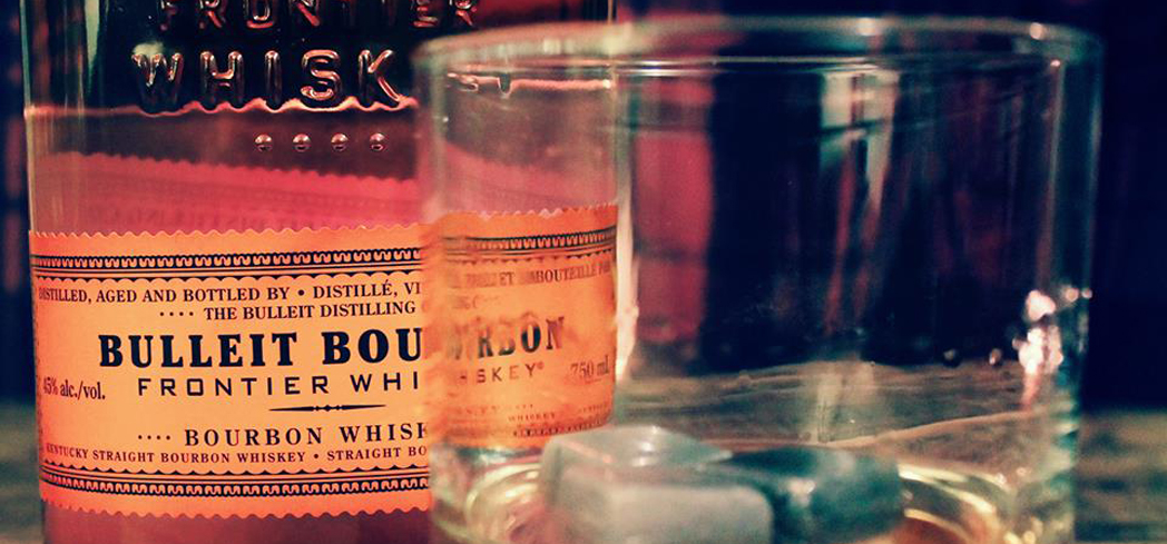 Bulleit Bourbon crackles with the rough character of its pioneer roots