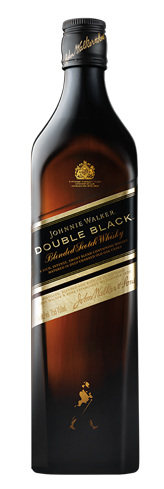 Johnnie Walker Double Black Blended Scotch Whisky has a subtle, smoky sweetness