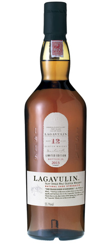 Lagavulin 12 Year Old Cask Strength Single Malt Scotch Whisky has a rich and plummy palate