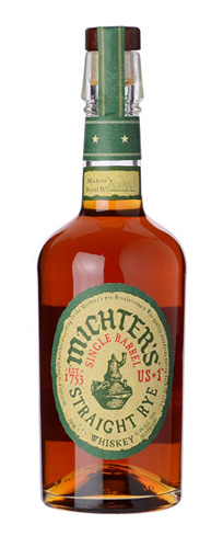 Michter's US*1 Single Barrel Straight Rye is made with sheared rye, which concentrates the grain's flavors during fermentation