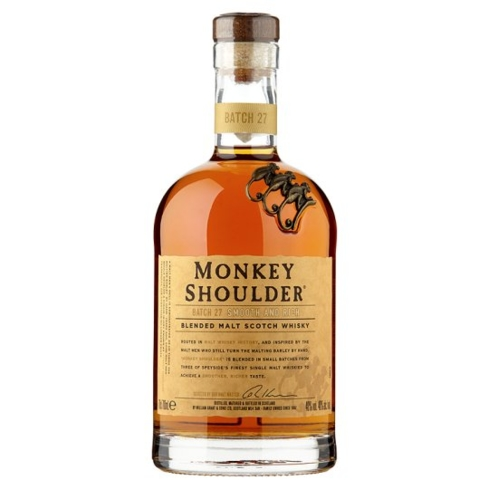 Monkey Shoulder Blended Malt Scotch Whisky mixes great in cocktails