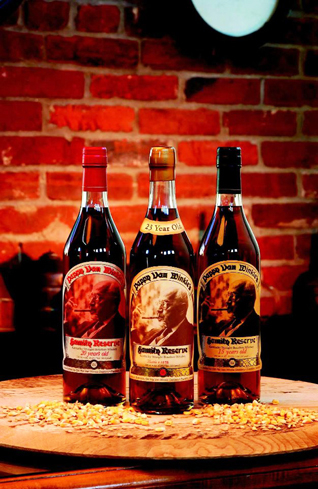 Pappy Van Winkle's Family Reserve is wheated bourbon whiskey