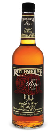 Rittenhouse Straight Rye hails from Heaven Hill Distillery