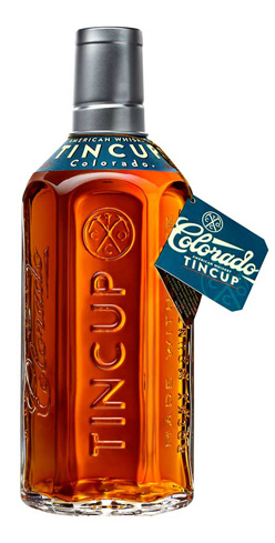 TINCUP Whiskey has a high rye content