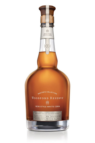 Woodford Reserve 1838 Style White Corn uses white corn instead of the usual yellow corn