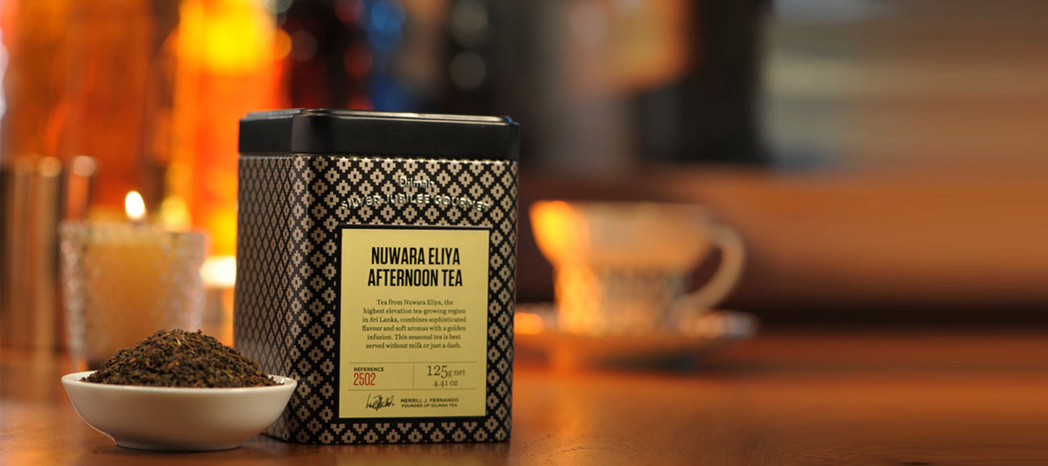 Dilmah is the only vertically-integrated tea company in the world