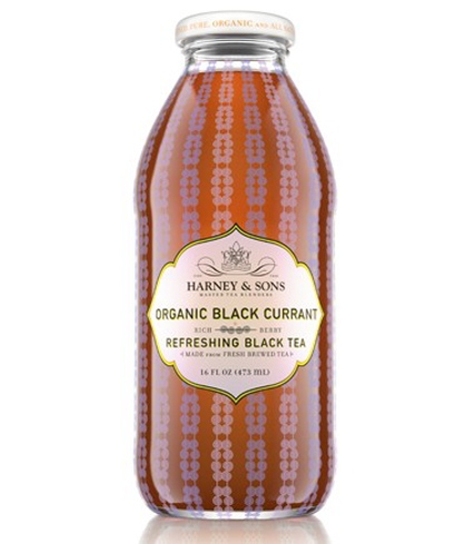 Harney & Sons iced teas contain a dollop of organic cane sugar and are a mere 40 calories