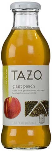 Tazo Iced Teas are affordable and come in a wide variety of flavors
