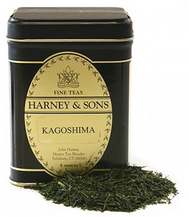 Harney & Sons sources tea leaves from the Japanese island of Kyushu for its Kagoshima blend