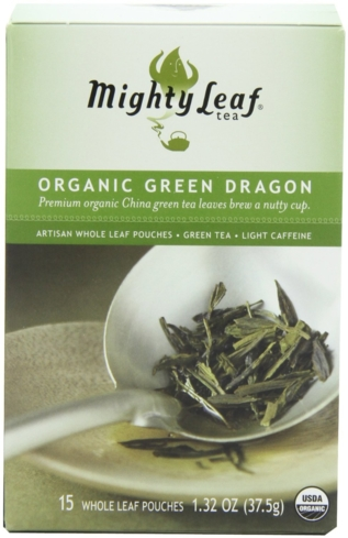 Mighty Leaf Organic Green Dragon is also known as Lung Ching and is wok-fired