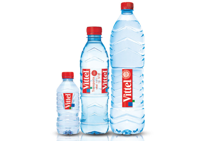 Vittel is a mineral-rich water that springs from the Vosges Mountains of France.