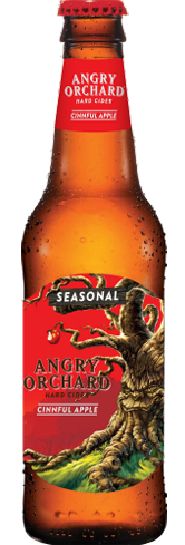 Angry Orchard Cinnful Apple balances sour green apple with warm cinnamon flavors