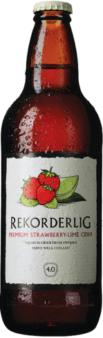 Rekorderlig Strawberry-Lime Cider was first released in 1997
