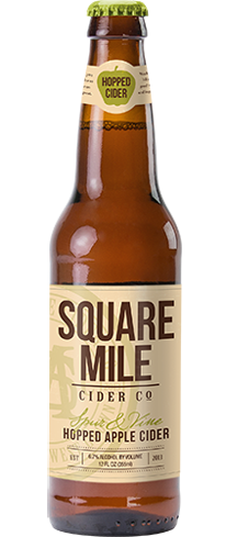 Square Mile Spur and Vine is made from three apple varieties