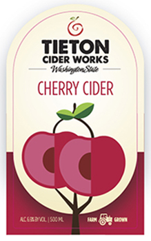 Tieton Cherry Cider is best paired with roasted pork, salmon or cherry pie