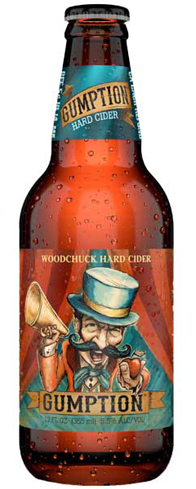 Woodchuck Gumption is made with sweet apple juice and dry European cider apples