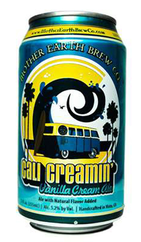 Mother Earth Cali Creamin' has a malty backbone and smooth creaminess