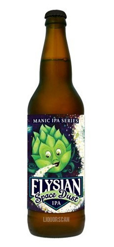 Elysian Brewing Space Dust IPA has tropical fruit flavors
