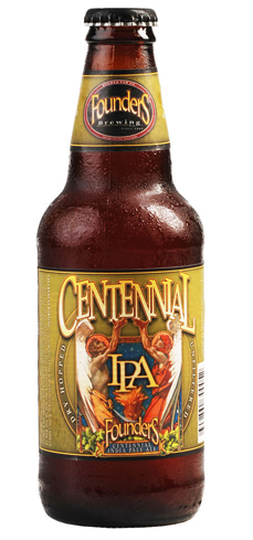 Founders Centennial IPA has a well-balanced mix of tropical fruit flavors and dryness