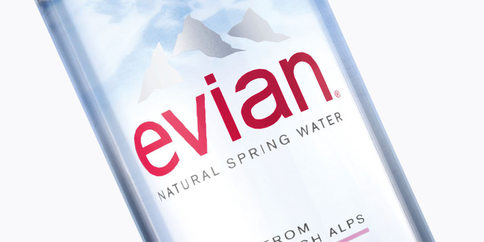 Evian is one of GAYOT's Top 10 Bottled Waters.