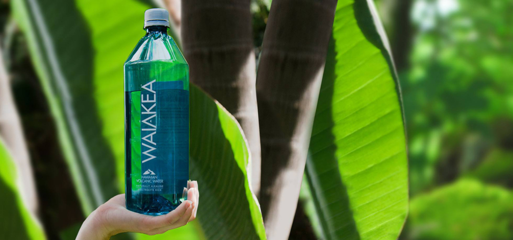 Waiakea water originates in Hawaii through both snowmelt and rain on the pristine peak of the Mauna Loa volcano.