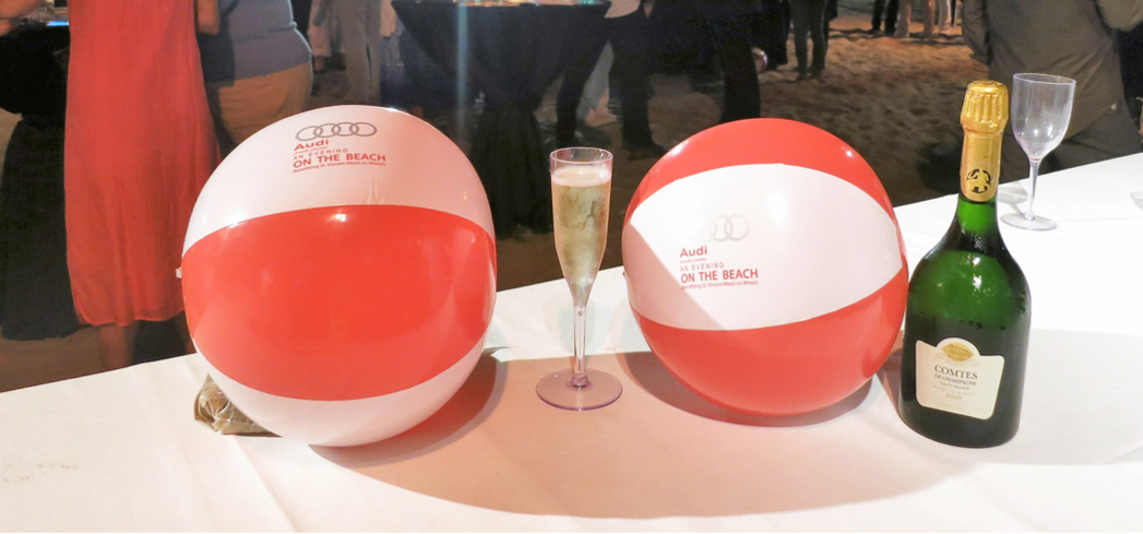 Audi and Comtes de Taittinger sponsors of the 2015 An Evening On The Beach
