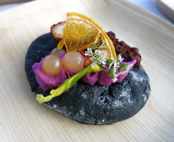 Roasted Purple Cauliflower by Andrew Vaughan of Terranea Resort