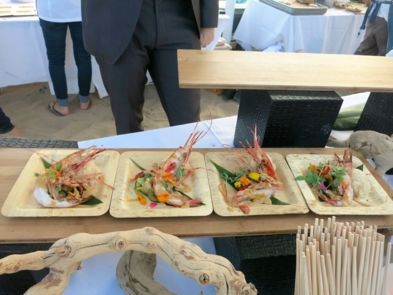 Grilled spot Prawns by John Lechleidner of WP24