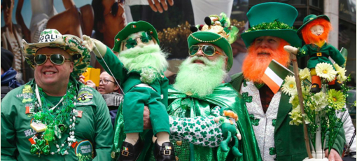 Check out GAYOT's selections of the Best St. Patrick's Day Parades