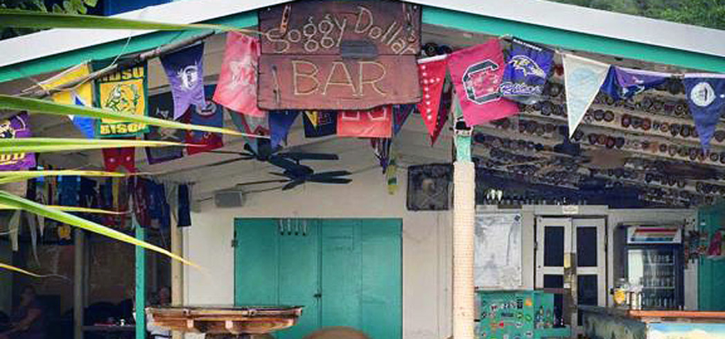The Soggy Dollar, home of the Original Painkiller