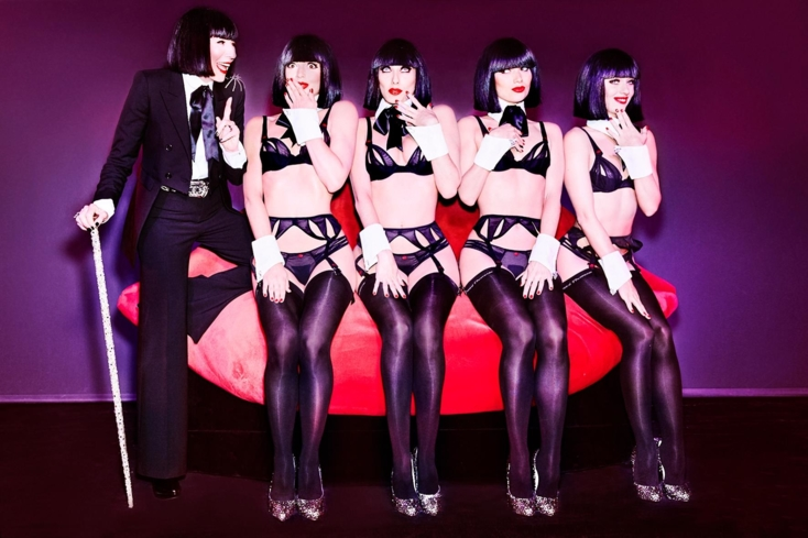Crazy Horse Paris and renowned lingerie designer Chantal Thomass collaborate to create a scintillating show