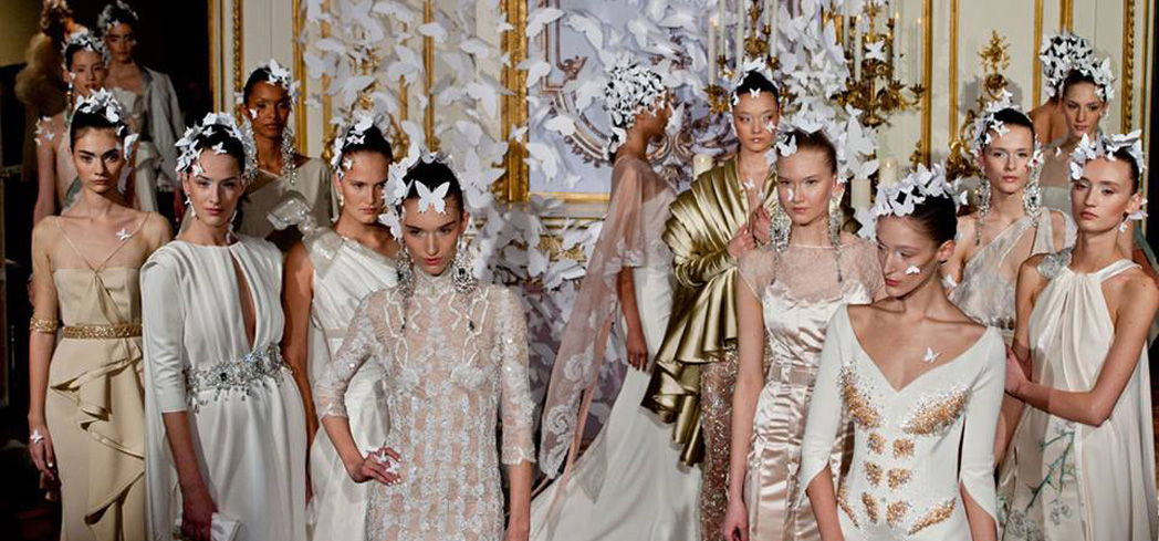The most expensive and exclusive form of fashion hits the runway in The City of Light