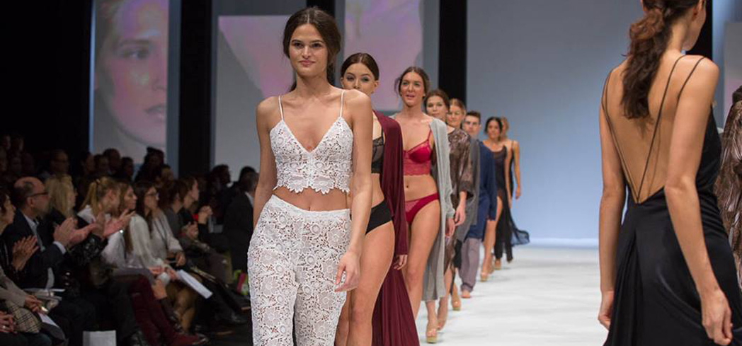 The spotlight is on undergarments at this international lingerie show