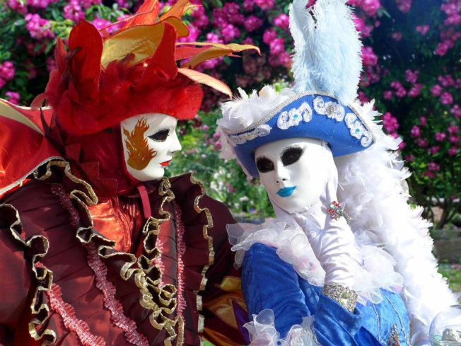 Don you most lavish mask during Carnival of Venice
