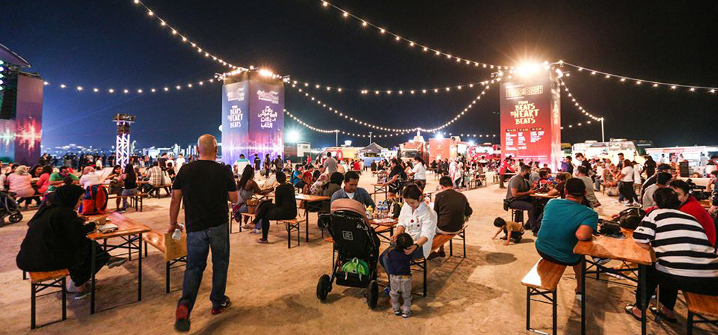 The annual Abu Dhabi Food Festival is a 17-day month-long gastronomic adventure