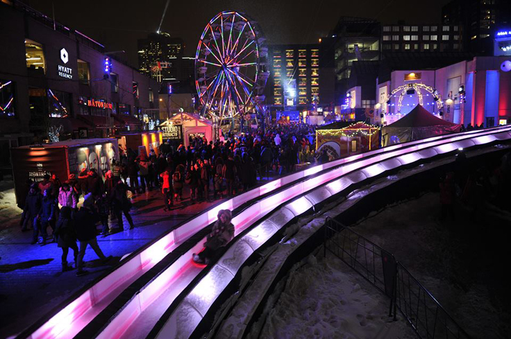 The Montréal en Lumière offers an array of activities sure to warm up those cold Canadian winter nights