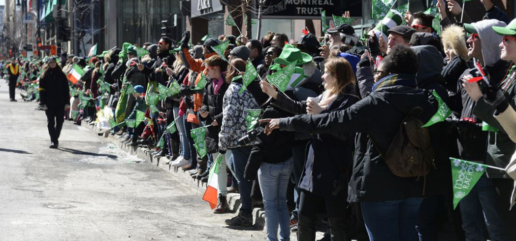 Celebrate this holiday at the oldest and largest St. Patrick's Day Parade in Canada